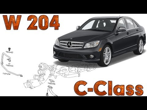 C-Class (W204) | Fault locations | Oil pump - YouTube