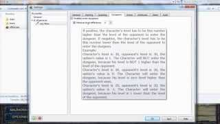 Shakes and Fidget Explicación Configurar SFBot