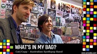 Cut Copy - What's In My Bag?