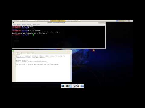 Kali Linux - Mount a vmware share folder