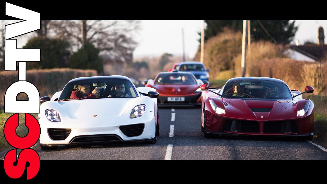 Collection Day Laferrari Spyder The Holy Trinity Of