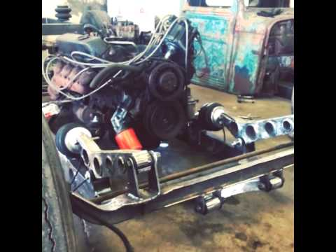 Rat Rod Front Suspension Youtube