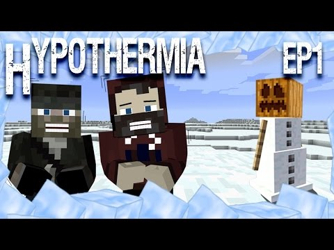 Minecraft Hypothermia Ep 1: Snow World