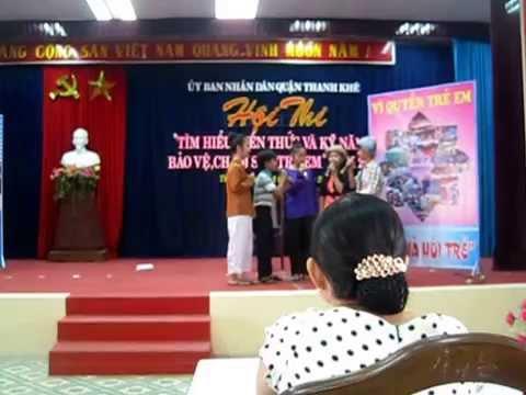 """Tiểu Phẩm: """"Về nhà hỏi trẻ"""" 02/06/2015 - Vĩnh Trung Thanh Khê"""