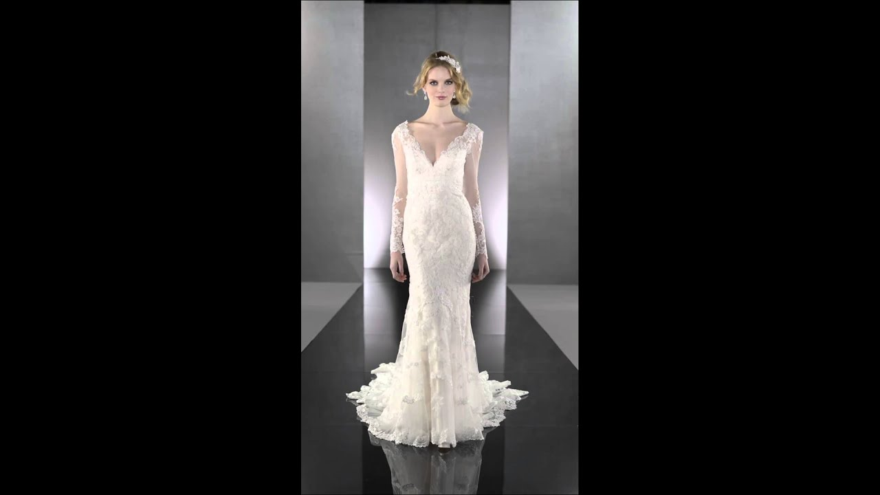 Lustre Designer Vintage Lace Wedding Dress - Martina Liana 675 - Youtube