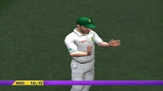 8th January India vs South Africa Test Match Ea cricket gameplay part 1
