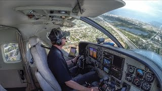 Join me as we fly the Cessna Grand Caravan from Ft Lauderdale Inter...