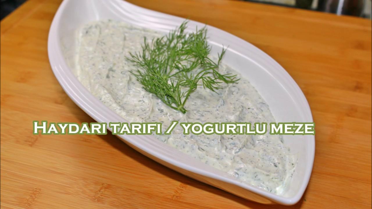 Haydari tarifi / nefis yogurtlu meze - YouTube