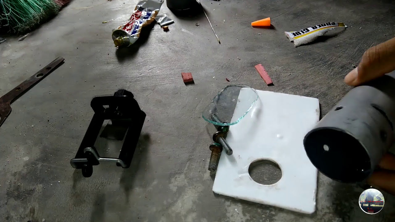Membuat monting kamera samping dengan bahan sederhana youtube