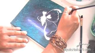 Butterfly & Elephant Indian Style Painting on Canvas :::.. Jennifer Perez ☆