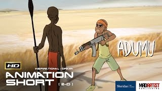 "2D Animated Short Film ""ADUMU"" Inspirational Animation by Adam Temple & Sheridan"