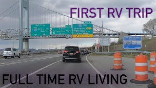 Picking Up Our First RV. New Jersey to North Carolina | Full Time RV Living