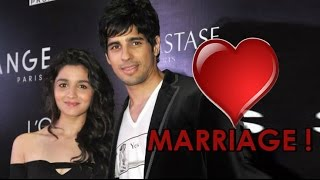Sidharth Malhotra revealed his wedding plans with Alia Bhatt