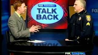 Talk Back: Sgt. Mike Munoz of the Perrysburg Township police