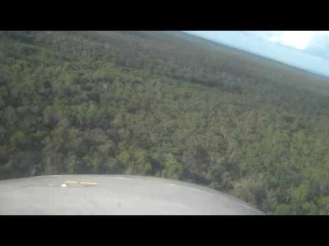 Flying into Nguiu, Bathhurt Island Northern Territories Australia