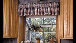 видео Дизайн занавесок на кухню: пошив штор для маленького кухонного помещения своими руками
