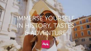 Immerse yourself in history,  tastes and adventure...