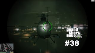 GTA V 38.BÖLÜM---MERRY WEATHER SOYGUNU---FRANKLİN,TREVOR ve MİCHEAL SUPER Bİ İŞ YAPTILAR .