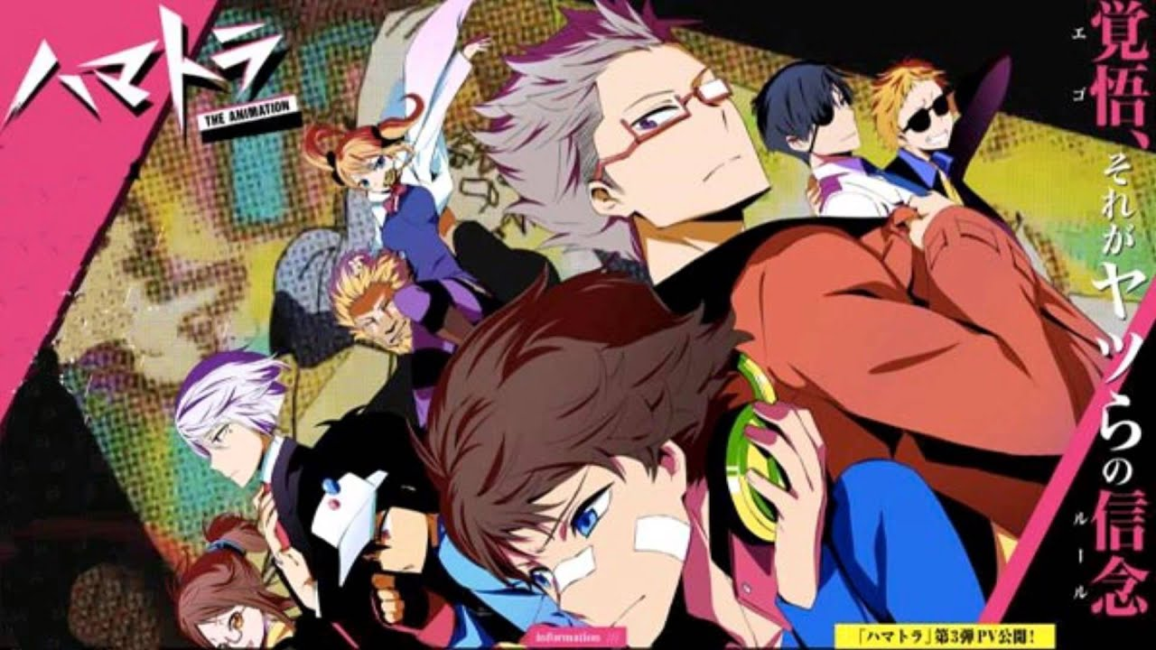 Live Wallpaper Girl Anime Hamatora The Animation Op Full Flat 167 Live Tune Ft