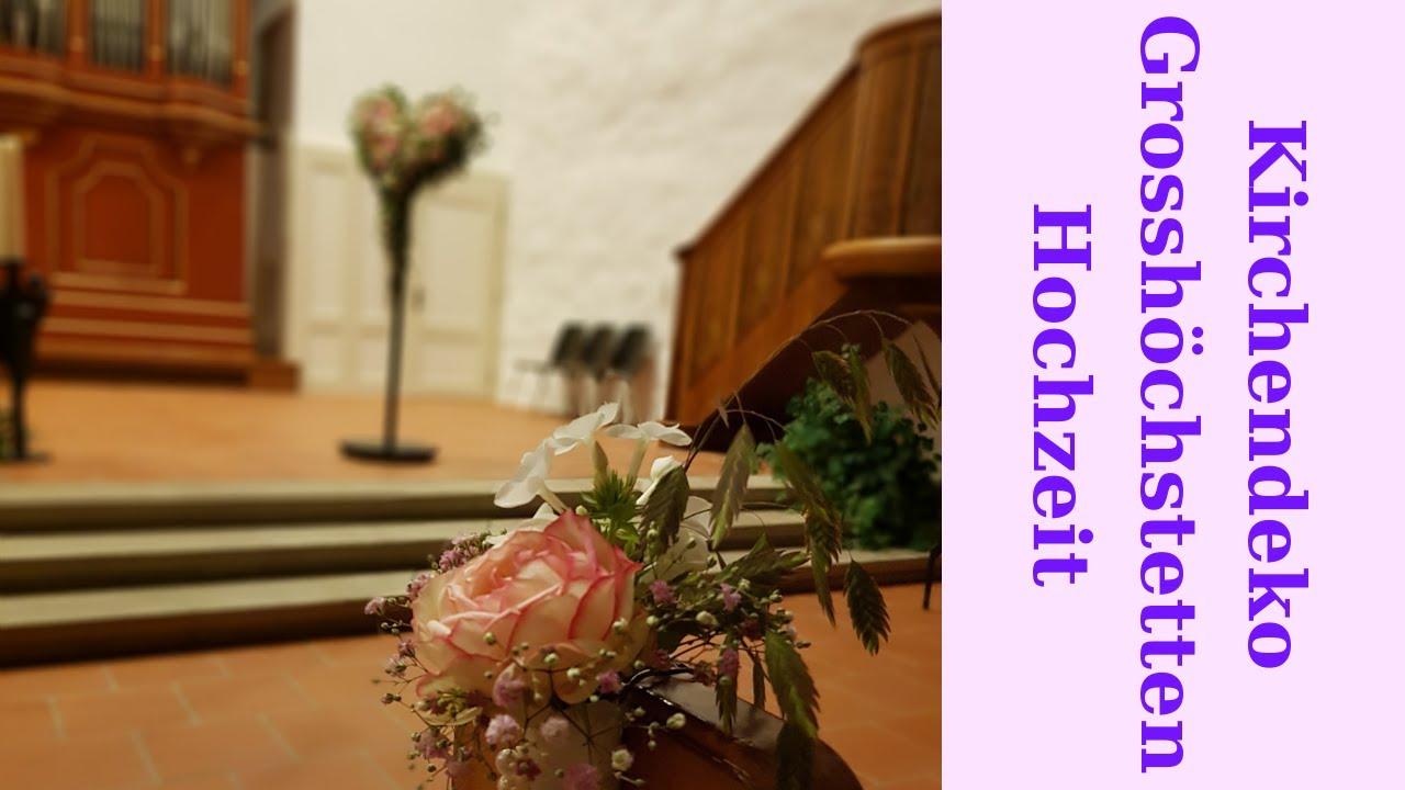 Hochzeitsdekoration kirche selber machen