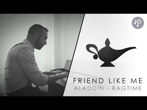 Friend Like Me, Aladdin | Piano Cover Ragtime (HQ) + Sheets | Disney