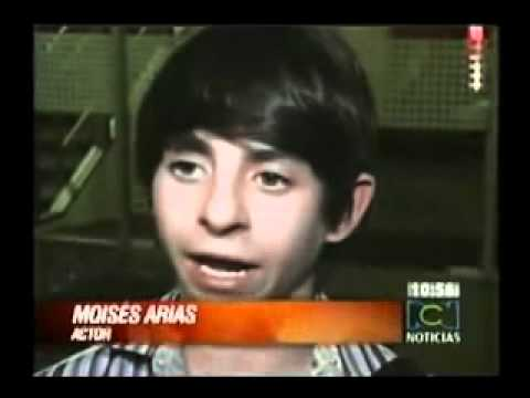 Moises Arias in Colombia.. Interview RCN