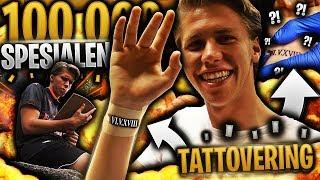 SPESIALEN for å endelig FEIRE 100 000 ABONNENTER 🖋️💥 **kanskje det er min første tatovering**