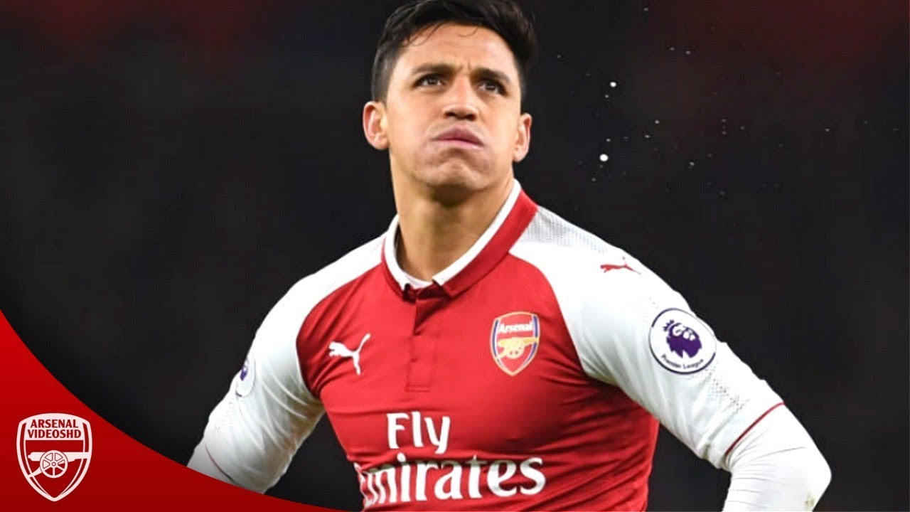 innovative design f1a95 66f4f Alexis Sanchez - The Last Season at Arsenal (2017/18)