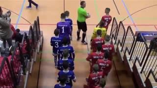 U14 Jhg2005 FC Schalke 04 - 1. FSV Mainz 05 2:3n9m; FINALE Rheinsüd Hallencup Köln 19.01.2019