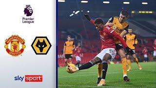 Last-Minute-Sieg dank Rashford | Manchester United - Wolverhampton Wanderers 1:0 | Premier League