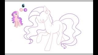 Вельви. Рисуем пони, спидпейнт #5