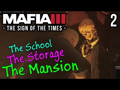 A FLYING HEAD ATTACKS??? | Mafia III Sign of the Times DLC | PART 2