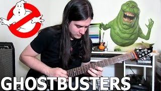 Repeat youtube video Ghostbusters (Caça-Fantasmas) Guitar - Metal