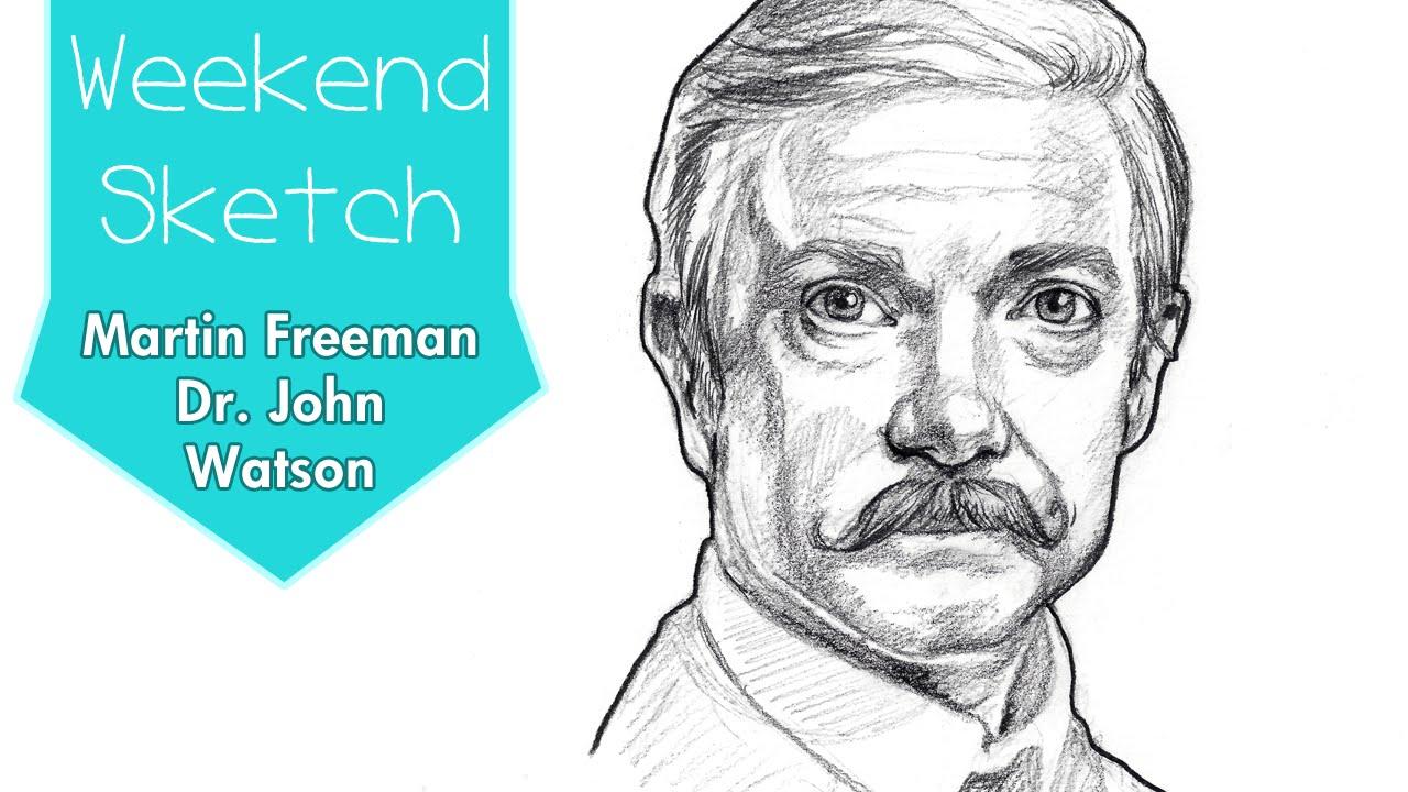Martin Freeman Watson Mustache