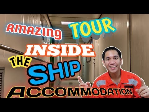 SHIPS INSIDE ACCOMMODATION TOUR | VLOG 012