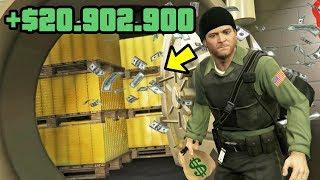 DER $20.000.000 TRESOR in GTA 5! (RÄUBER MOD Teil 4)