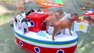 Wild Wagon Help The Animals Of These Toy Cars. Video For Children