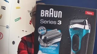 review braun series 3 3080s new