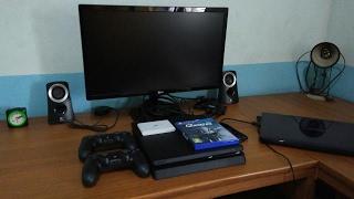 Pasang PS4 Slim di Kamar Saya