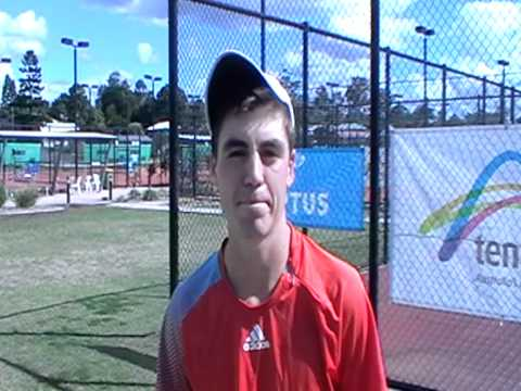 James Frawley  Boys Singles Champion