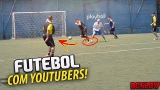 futebol com youtubers o jogo do sculo bgs 2017