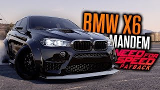 Need for Speed Payback | BMW X6 M CUSTOMIZATION?!