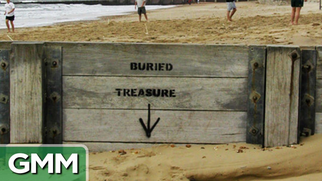 Real Life Buried Treasure - YouTube