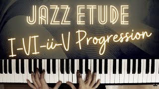 Lick No. 1 – Jazz Improvisation Etude │Jazz Piano Lesson #44