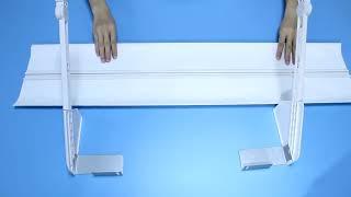직풍방지 에어컨 윈드바이저 벽걸이형 가드 바람막이 보조…
