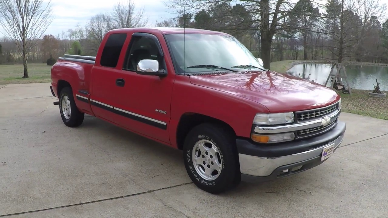 HD VIDEO 2000 CHEVROLET SILVERADO LS EXTENDED CAB TRUCK V8 ...