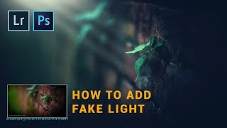 Photoshop cc Tutorial | Photoshop Lightroom Tutorial | How to add FAKE LIGHT RAY in photoshop