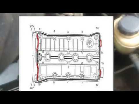 Шевроле Лачетти 1.4 1.6  Замена клапанной прокладки Daewoo Lacetti, Chevrolet Cruze течет масло Aveo