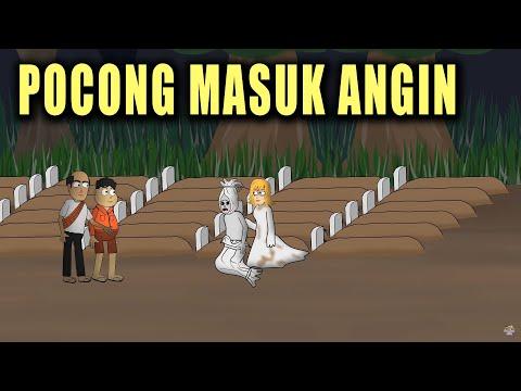 Pocong Masuk Angin - Animasi Horor Kartun Lucu - Warganet Life