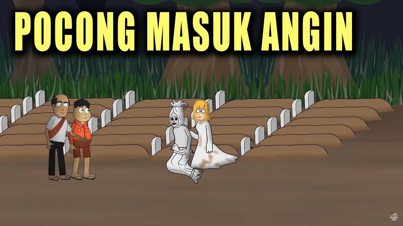 Download Pocong Masuk Angin - Animasi Horor Kartun Lucu - Warganet Life
